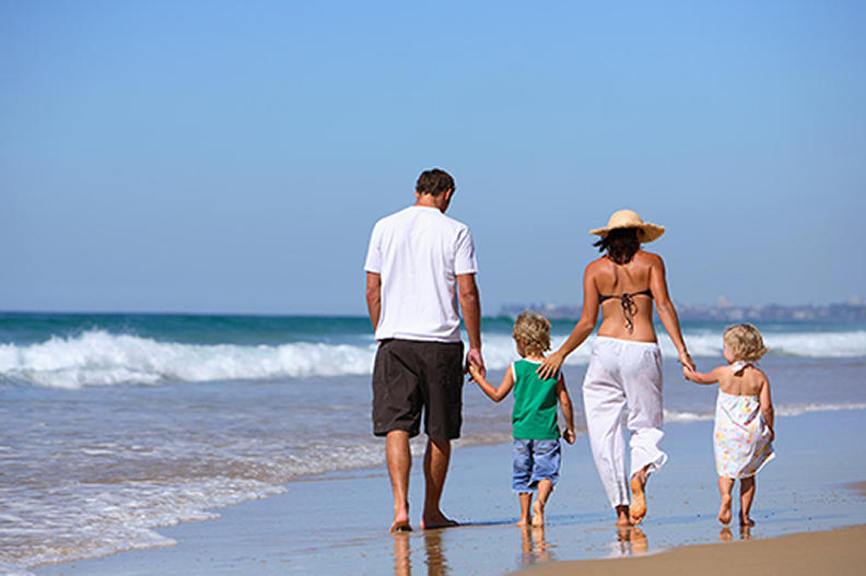 Dia dos pais na praia: Dicas de lazer para aproveitar esse dia especial