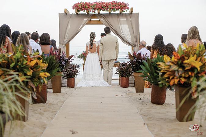 Casamento na praia das toninhas
