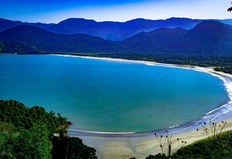 Praias de Ubatuba: Praia do Ubatumirim