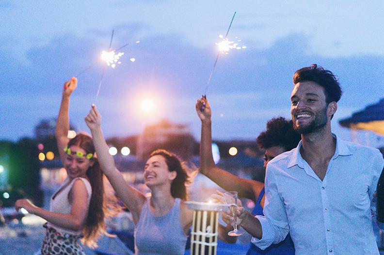 Ano-novo na praia: Aproveite o Réveillon 2019 em Ubatuba